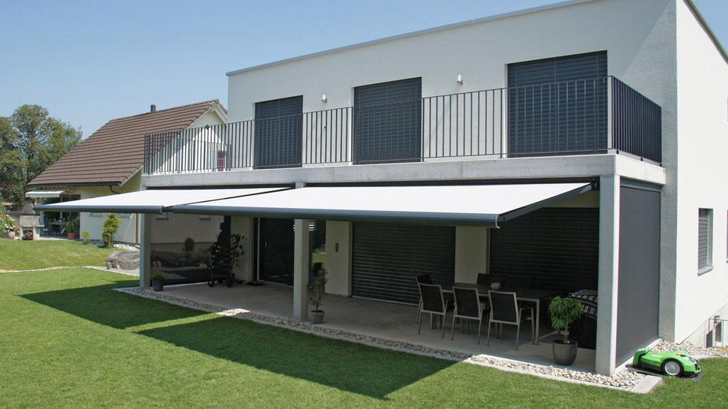 Sonnenschutz für Balkon und Terrasse - Markisen Zanker