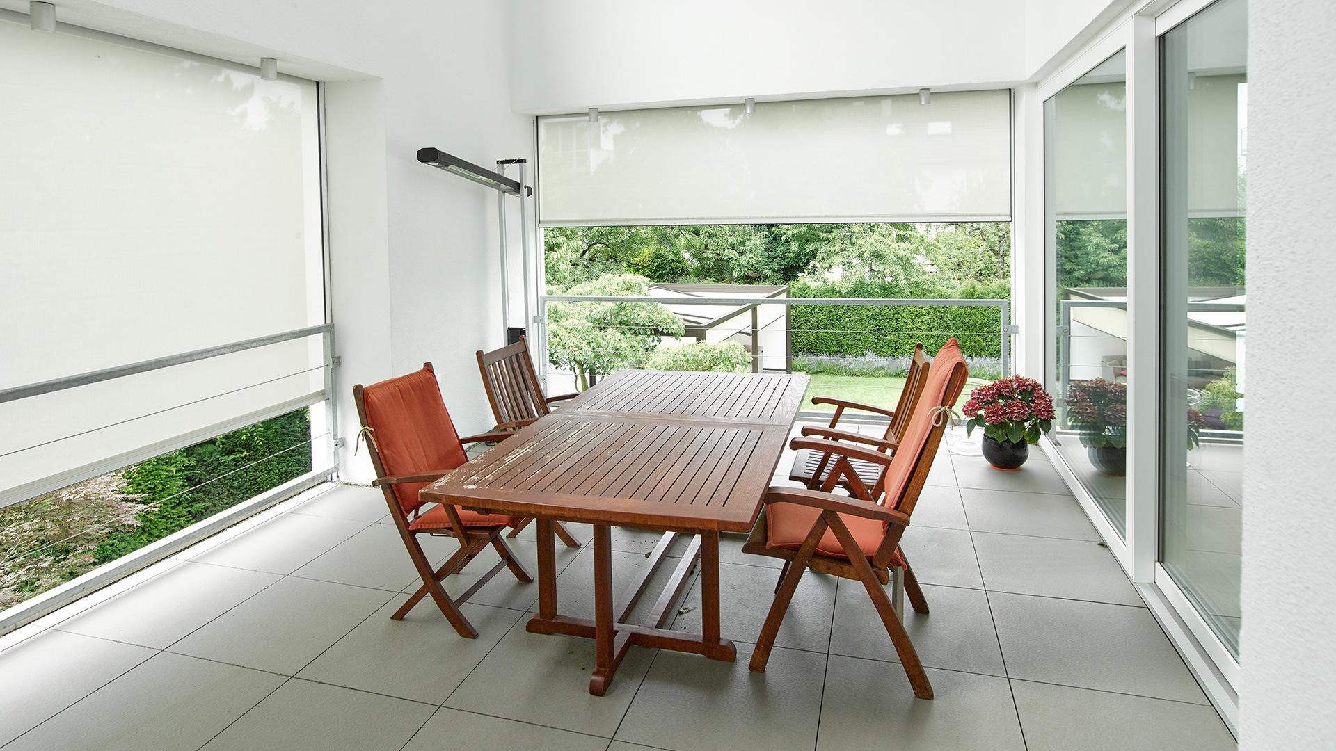 zanker textilscreen 01 - Sonnenschutz für Firmengebäude