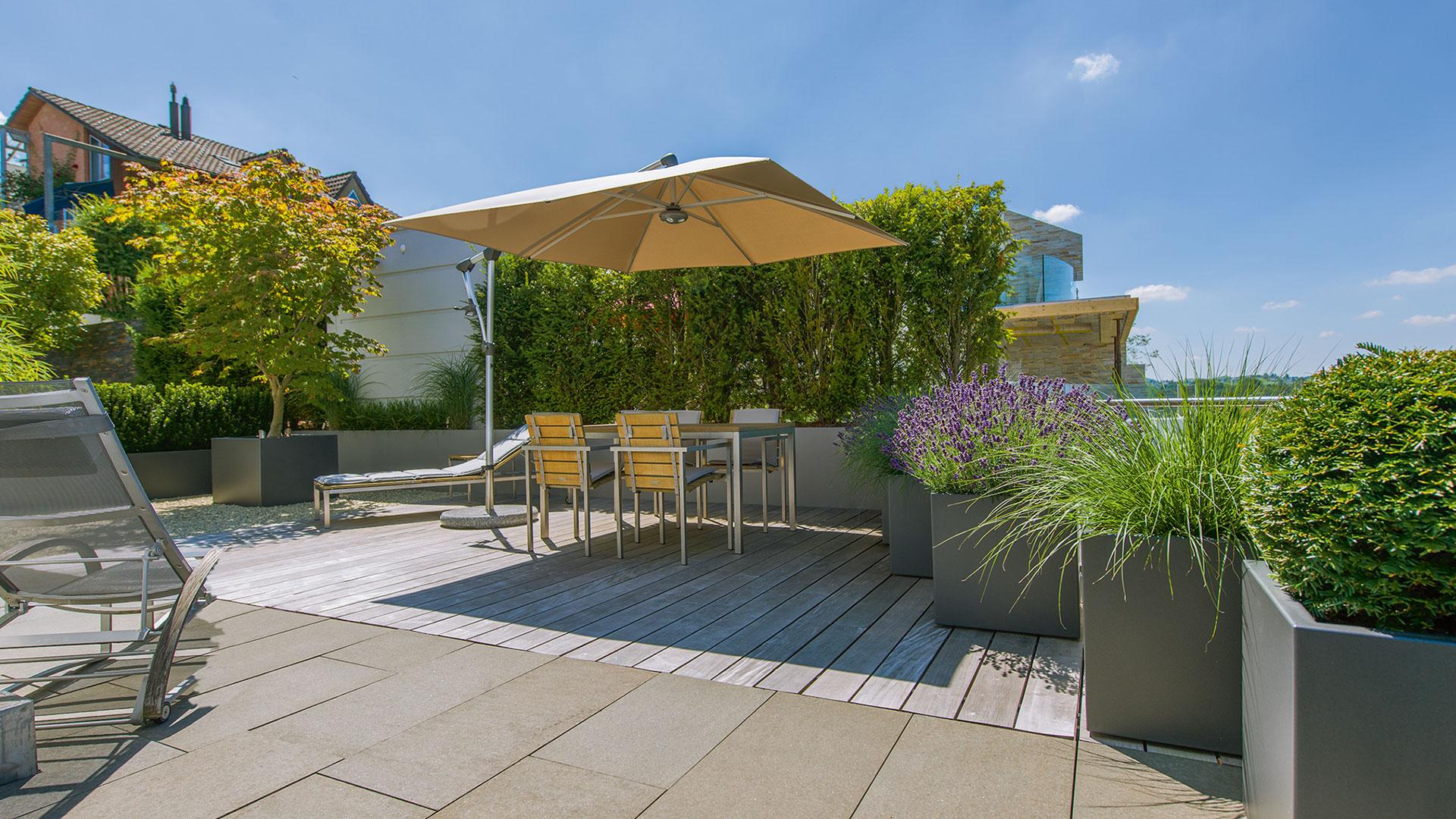 zanker Sonnenschirm 07 - Sonnenschutz für Freisitz und Garten
