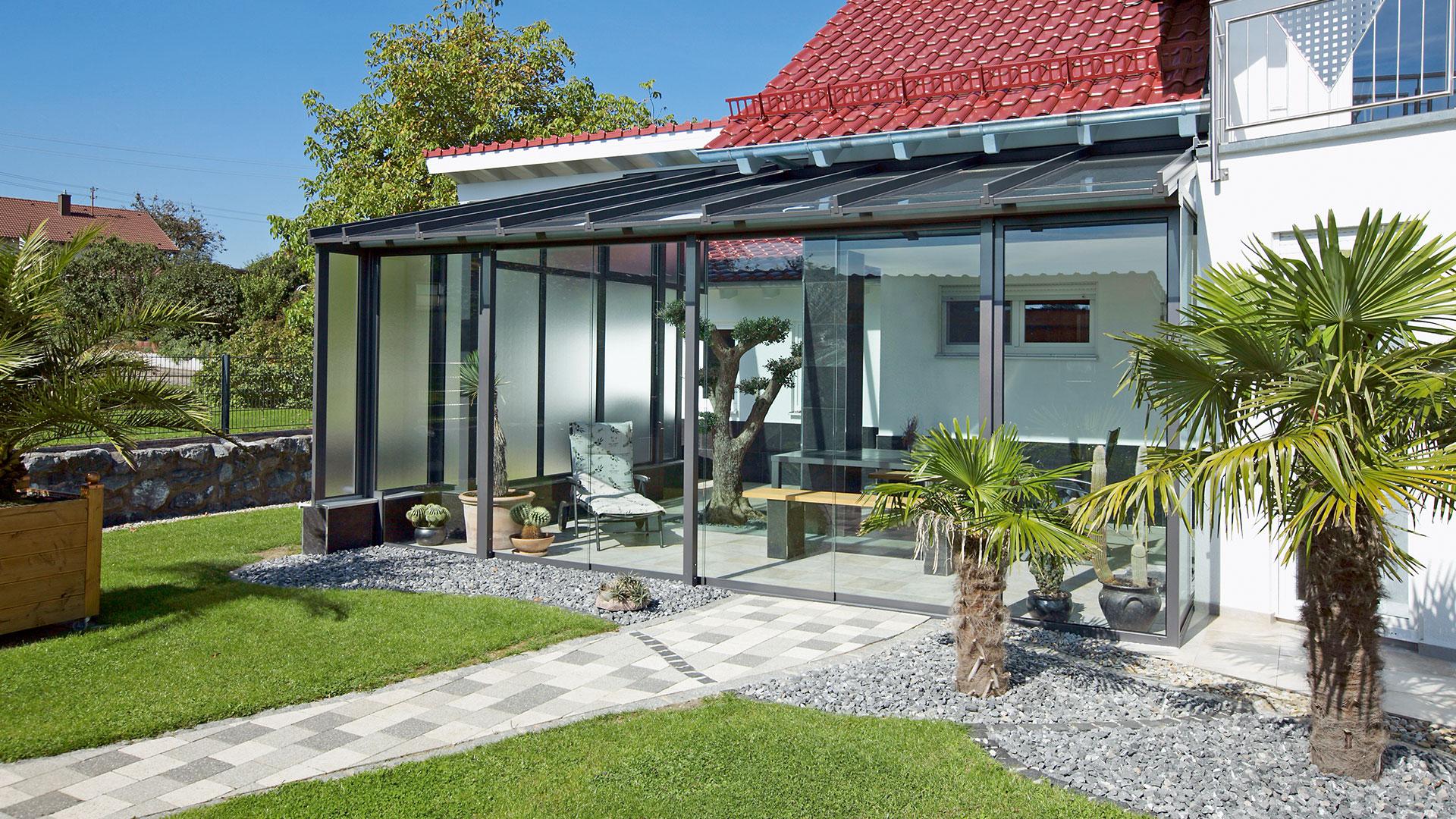 zanker Wintergarten 01 - Sonnenschutz für Balkon und Terrasse