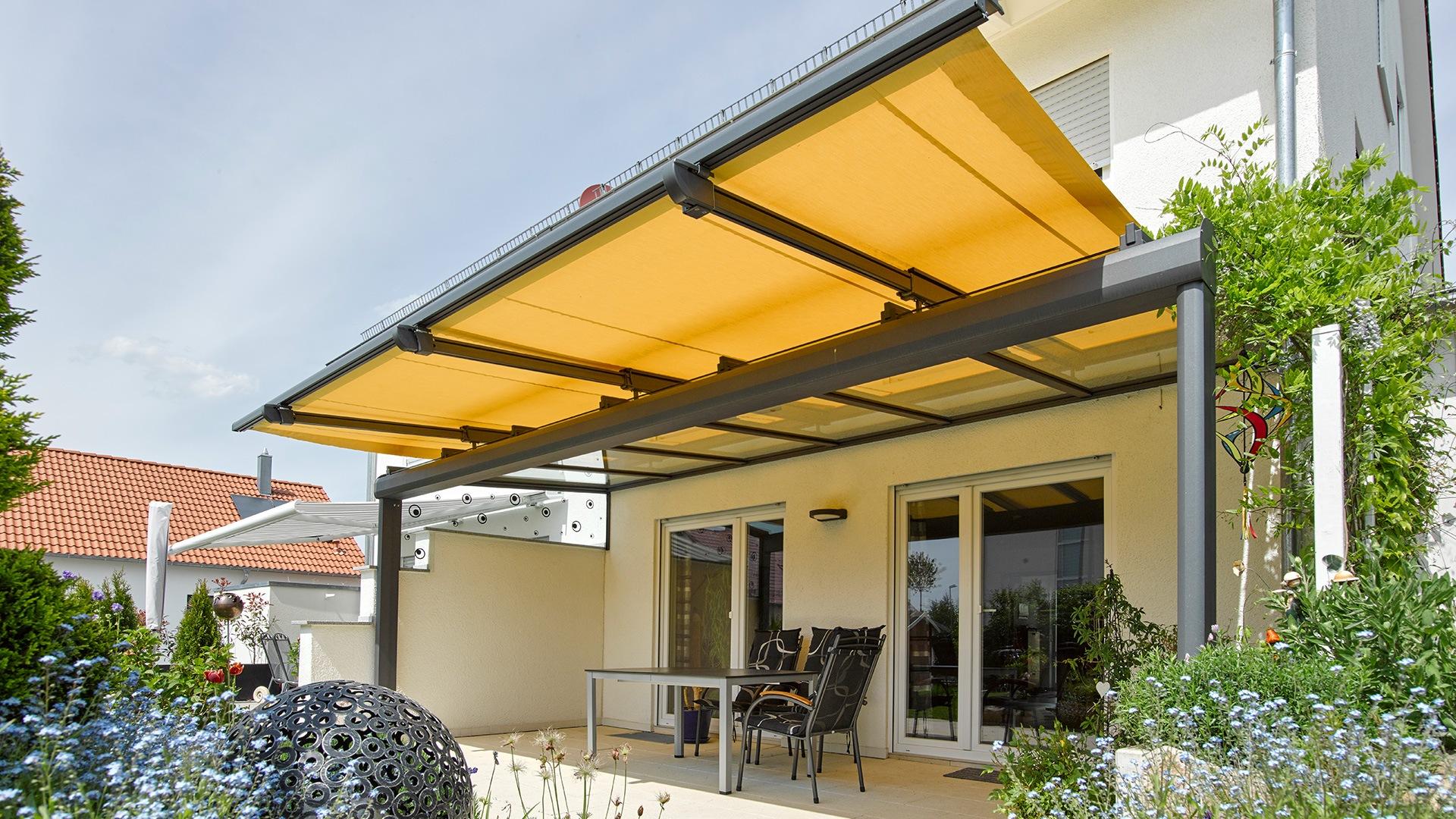 zanker jardino 12 - Sonnenschutz für Balkon und Terrasse