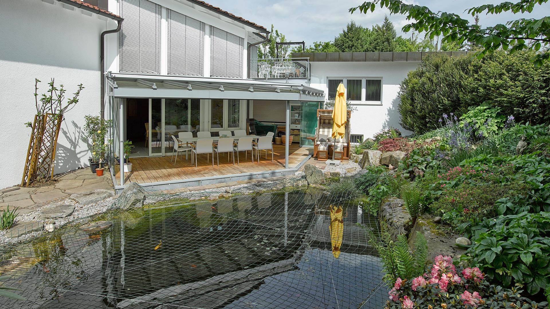 zanker jardino 15 - Sonnenschutz für Balkon und Terrasse