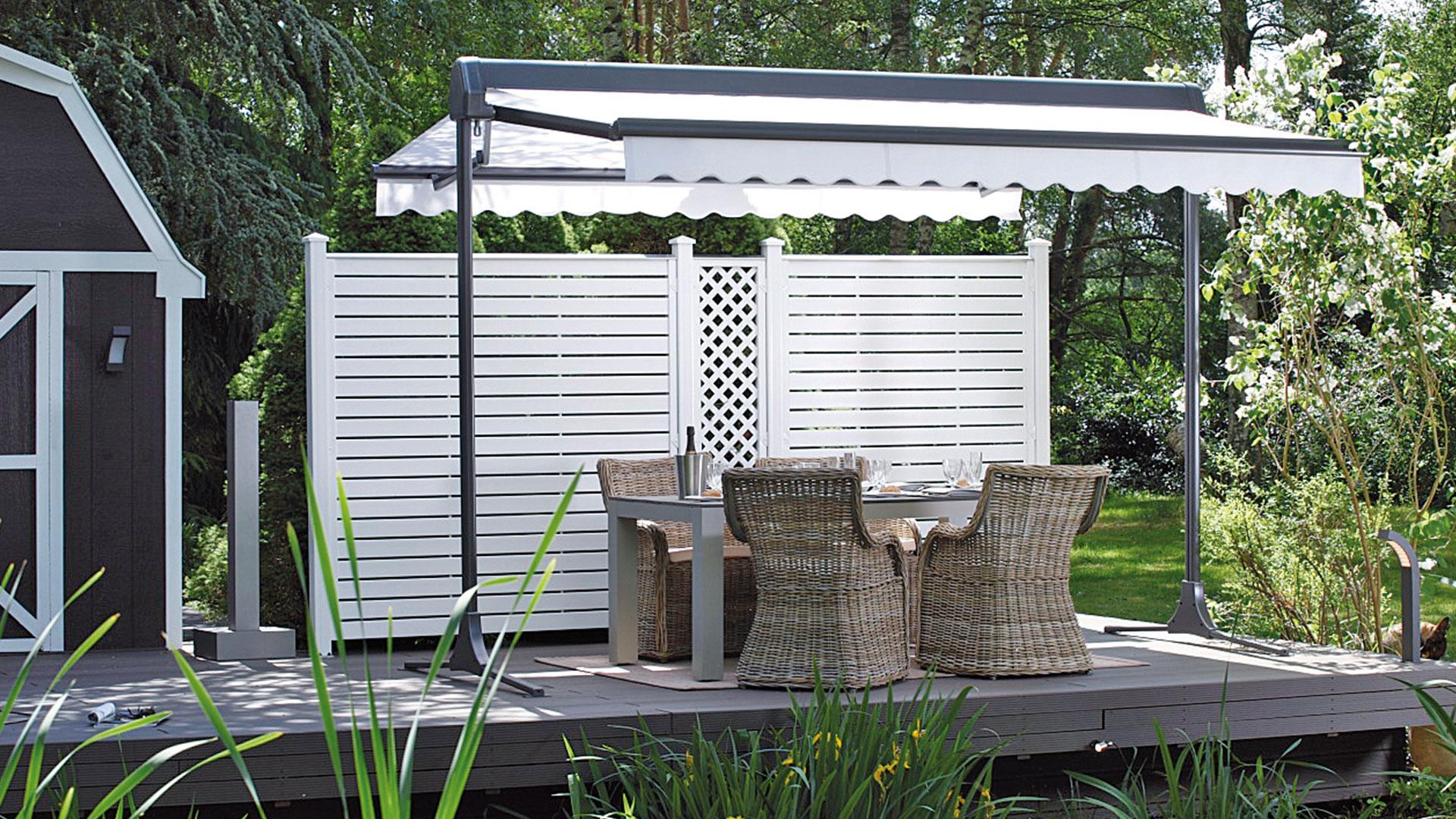 zanker ombramobil 01 - Sonnenschutz für Freisitz und Garten