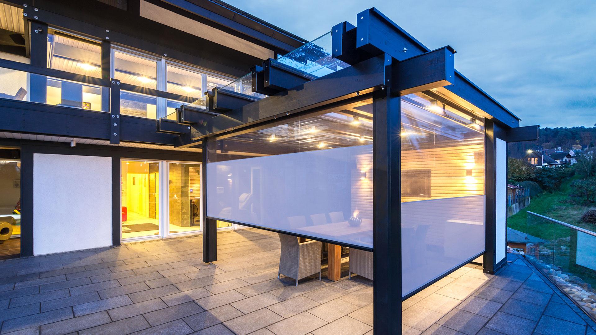 zanker textilscreen 08 - Sonnenschutz für Firmengebäude