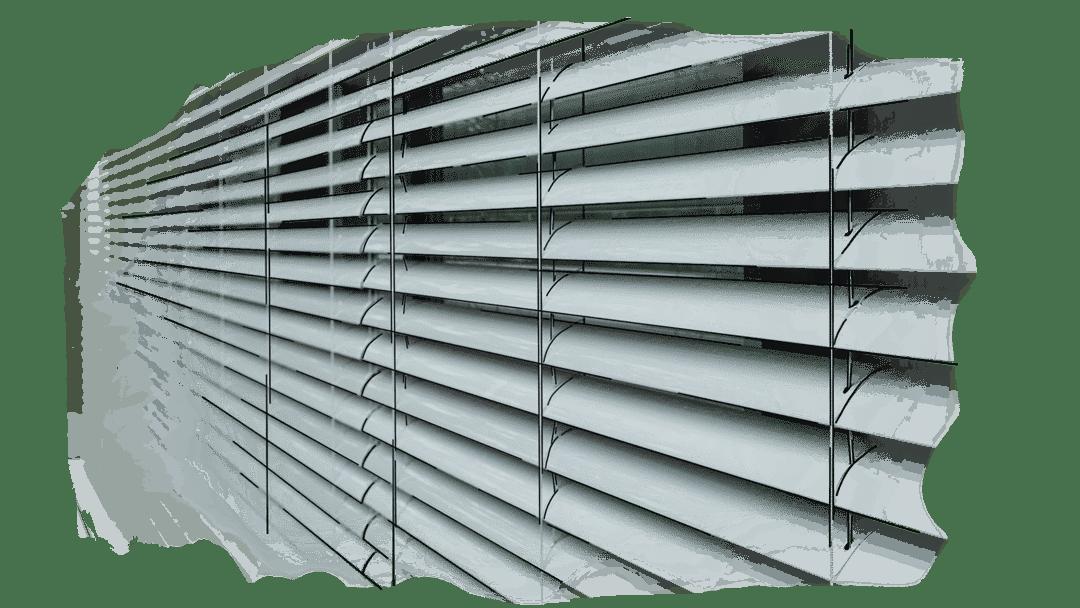 raffstore - Sonnenschutz für Fenster und Fassade