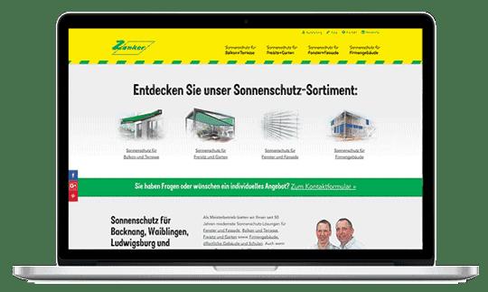 mock up macbook - Sonnenschutz-Ausstellung