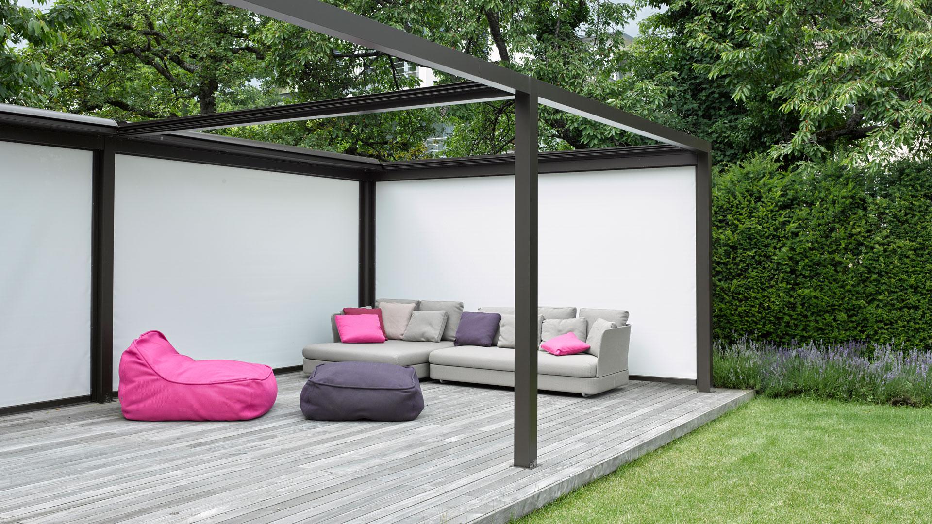 velero lounge beschattung 01 - Sonnenschutz für Freisitz und Garten
