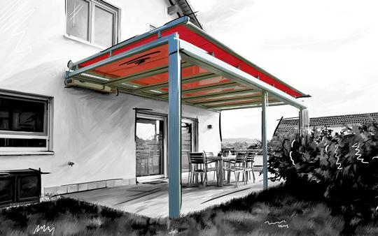projektbild zanker jardino - Sonnenschutz-Ausstellung