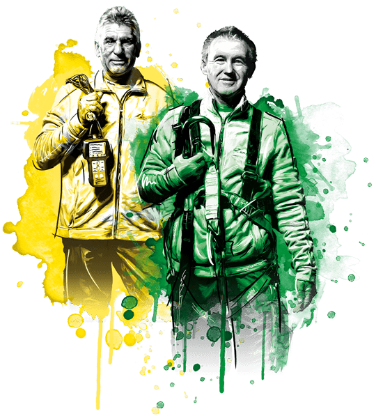 sonnenbaendiger team montage - Ausstellung